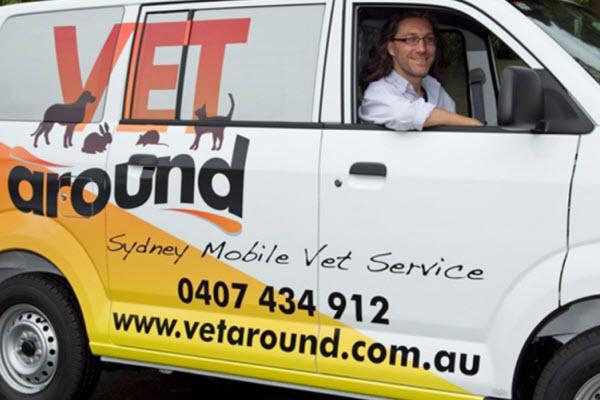 Vetaround - Vetaround service van